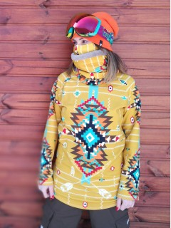 Navajo tribal winter - termo sweatshirts man