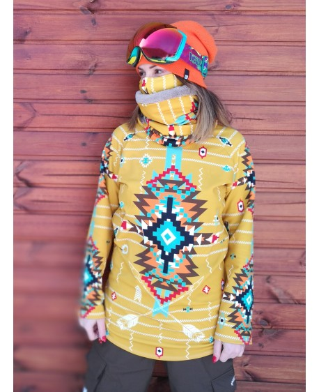 Navajo tribal winter - termo mikina pánska