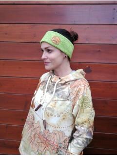 Headband termo - Neon Green peas
