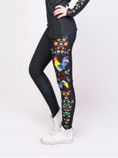 Kohútik jarabý - leggings