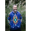 NAVAJO TRIBE WINTER BLUE - termo sweatshirts
