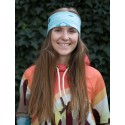 AZTEC BLUE WINTER - termo headband