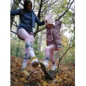 Pink old days - children´s leggings 116-138
