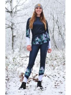 Black snowy days - termo oblečenie
