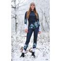 Black snowy days - termowear