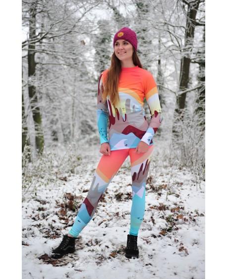 Knitted Mountains Lake - termowear