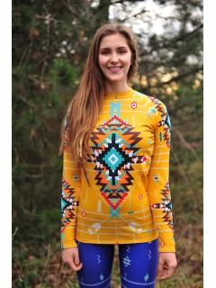 Navajo tribal winter temo set - blue