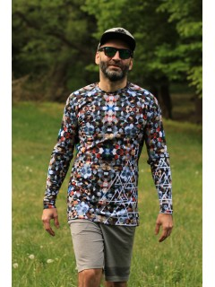 MOSAIC - termo tshirt with long sleeve