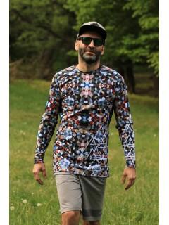 MOSAIC - termo tshirt with long sleeve