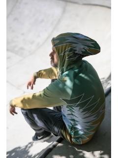 Golden aztecs forest - man´s sweatshirt