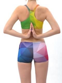Crystal rainbow - kraťasy