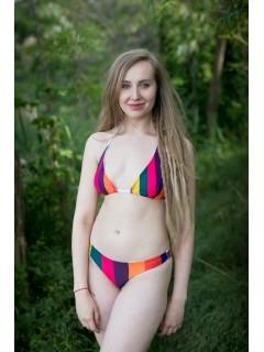 Carnival stripes - bikiny