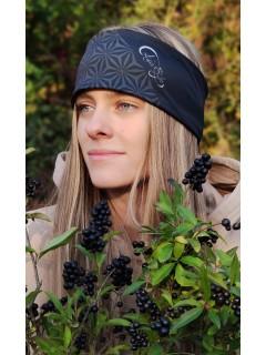 Headband Thermo - FIORE DELLA VITA BLACK