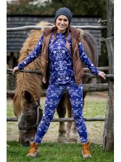 Folky blue - termo wear