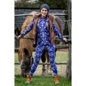 Folky blue - termo oblečenie