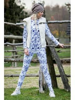 Folky white - termo oblečenie