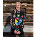 Kohútik Jarabý - black woman termo sweatshirts