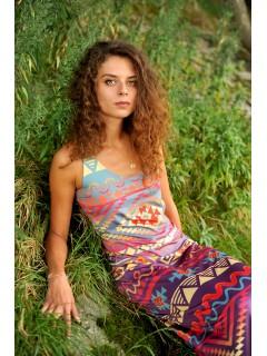 AZTEC GODDESS maxi dress
