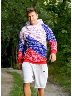 Čičmany TRICOLORA - man sweatshirts